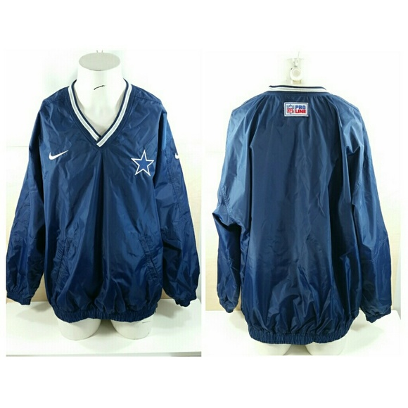 new product 965a5 0926d Nike Dallas Cowboys Reversible Pullover Jacket XL